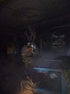 Пожар в Тайшете