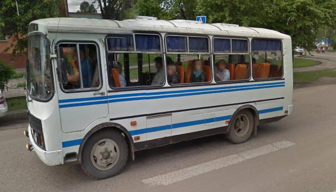 Автобус Нижнеудинск улица Ленина