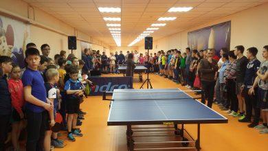 Photo of В школе №9 открыли детскую теннисную секцию