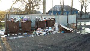 Проблема с вывозом мусора Нижнеудинск