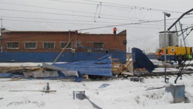 Photo of В Тайшете обрушившаяся из-за ветра кровля унесла жизнь 51-летнего мужчины