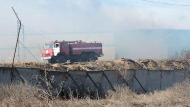 Photo of Пожар на лесообрабатывающем предприятие «СИБМИКС ИНТЕРНЕЙШНЛ»