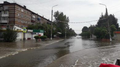 Photo of Подъем воды в реке Уда временно прекращен