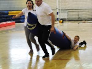 Папа, мама, я — спортивная семья. Полиция Нижнеудинск