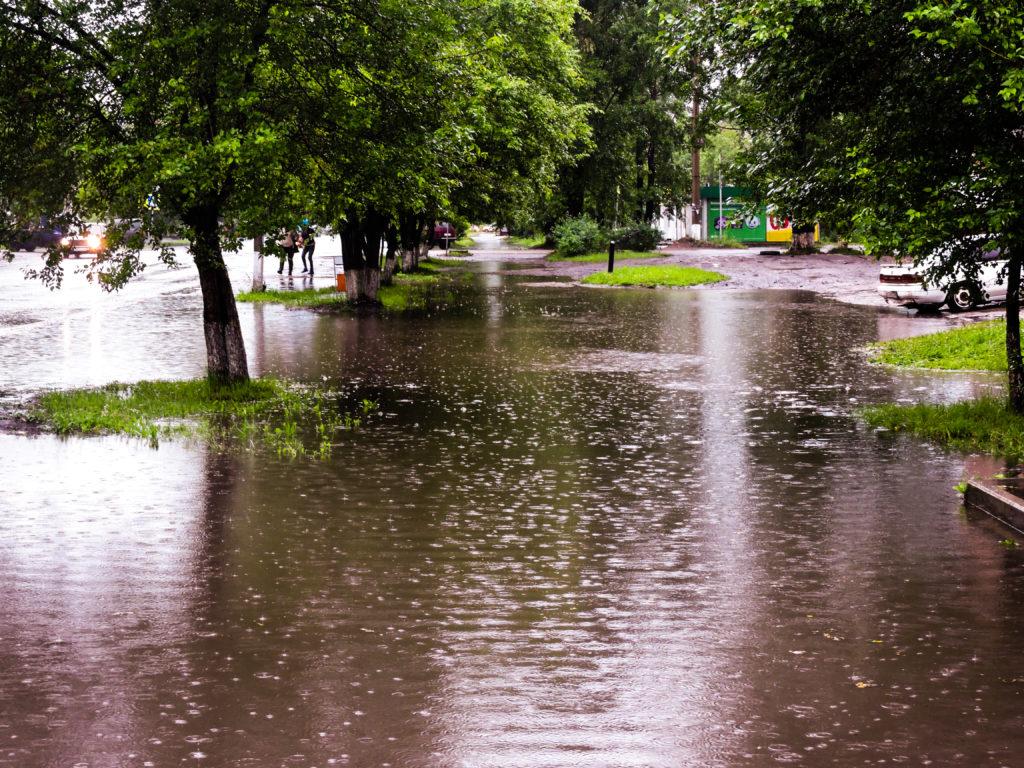 Нижнеудинск затопило