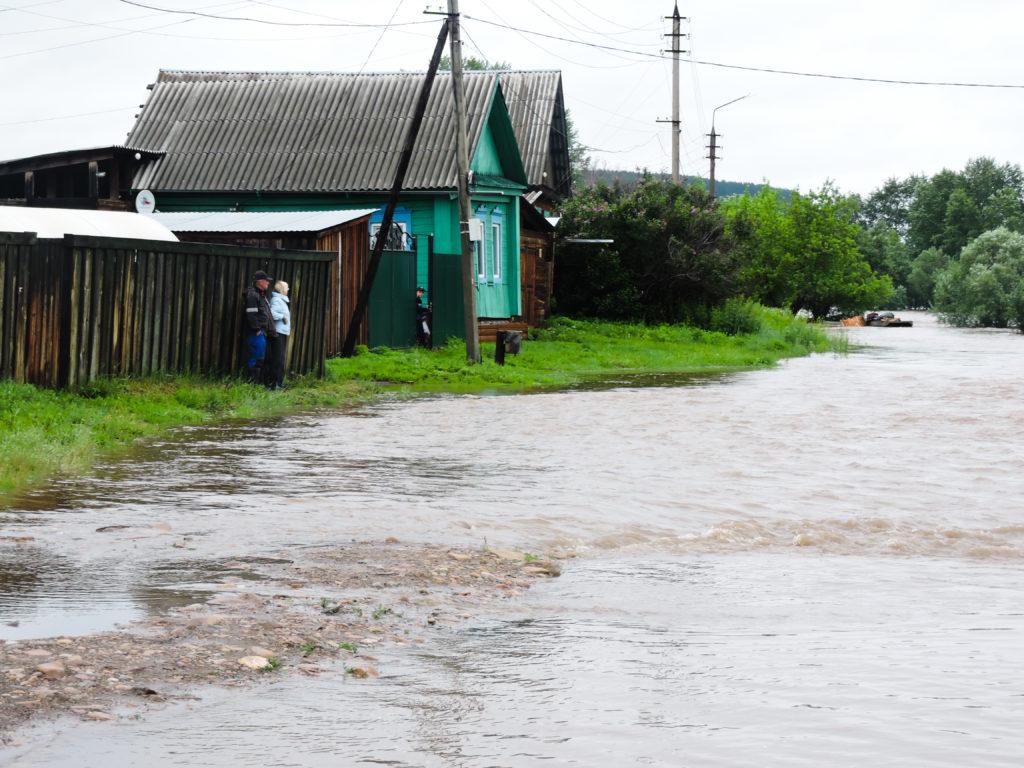 улица Красноярская Нижнеудинск подъем воды