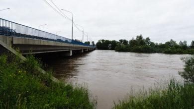 Photo of Подъем воды в реке Уда Нижнеудинск (фото)