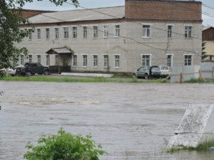 Нижнеудинск, подъем воды 2019