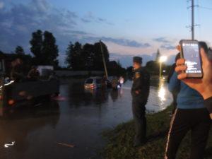 Наводнение Нижнеудинск