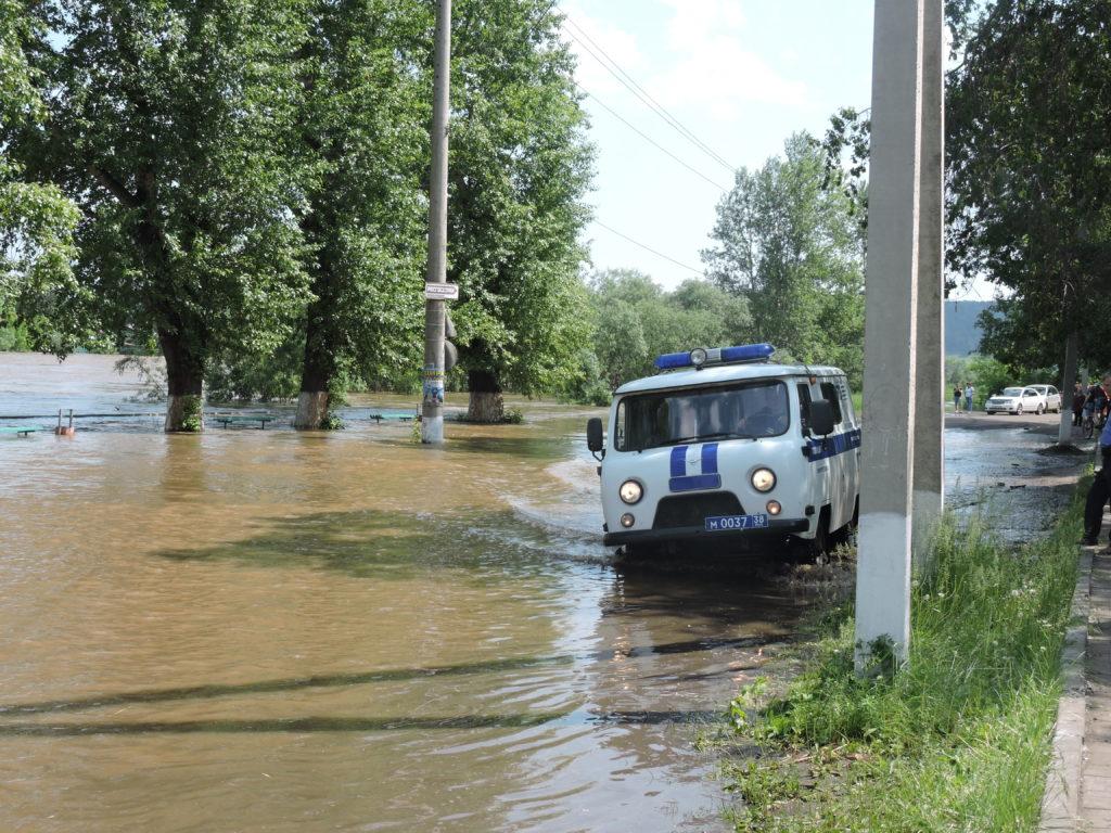 Наводнение Нижнеудинск 2019
