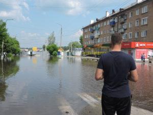 наводнение в нижнеудинске 2019