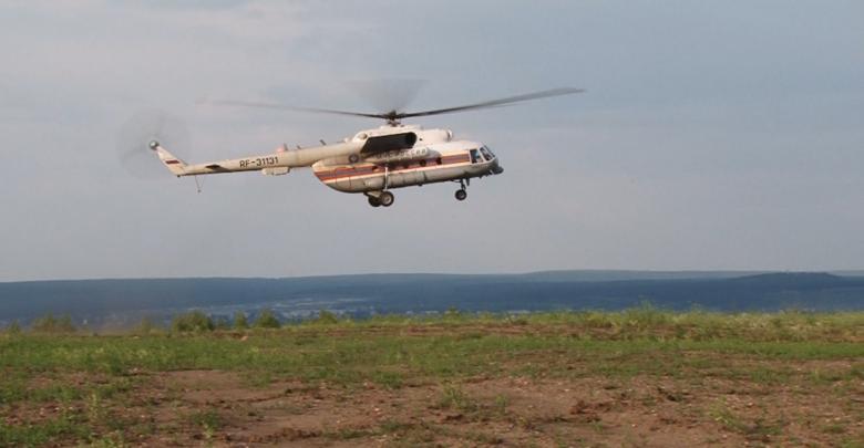 МЧС вертолет