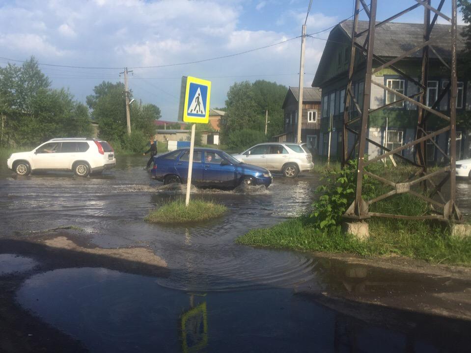 наводнение Нижнеудинск отдел полиции