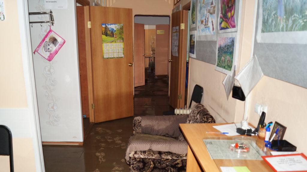 Детская художественная школа после наводнения 2019