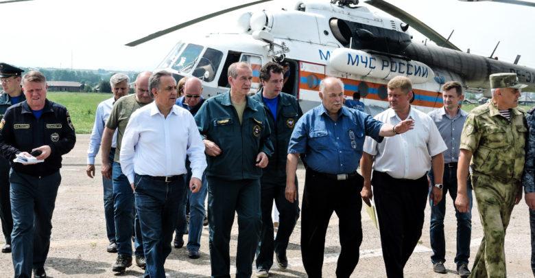 В Нижнеудинск посетили Виталий Мутко и Губернатор Сергей Левченко