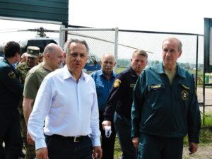 Нижнеудинск посетили Виталий Мутко и Губернатор Сергей Левченко