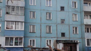 Photo of В Алзамае сорвало крышу у пятиэтажки