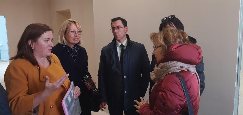 Ольга Ярилова приехала с рабочим визитом в Нижнеудинск