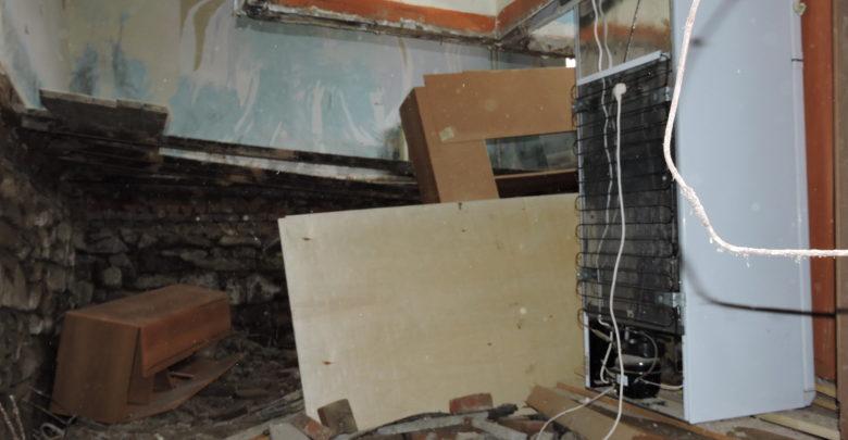 рухнула квартира на Октябрьской 58
