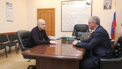 Photo of Глава Нижнеудинского района обсудил стратегию развития территории со спикером Заксобрания