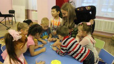 Photo of Сотрудники ГИБДД провели для дошколят викторину на знания ПДД