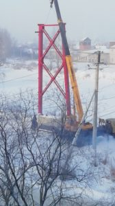 Нижнеудинск Мост Застрянка